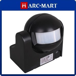 Body Inductive - Motion Activated PIR Light for Home Security Black Brand New + Drop Shipping #HN006