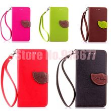 Higth Quality Classic Stand Flip Leather Cover Case For Apple Iphone 6 Cases Mobile Phone Bag With Card Slot
