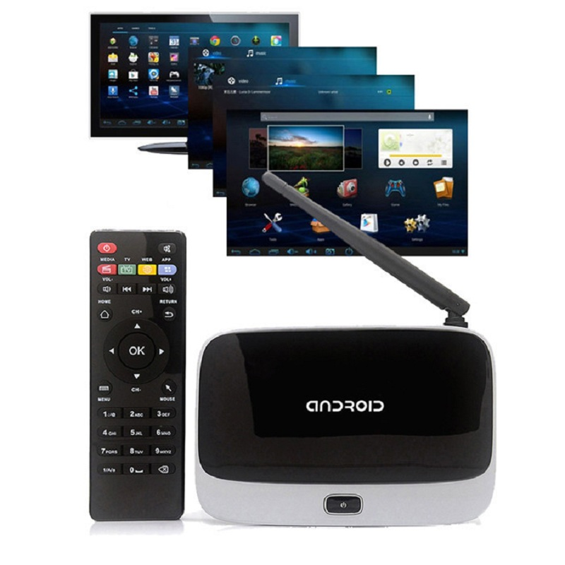 Original Android TV Box CS918 Q7 MK888 K-R42 Quad Core RK3188T Bluetooth 2GB/8GB Mini PC XBMC Famous Apps & ADD ONS Preinstalled(China (Mainland))