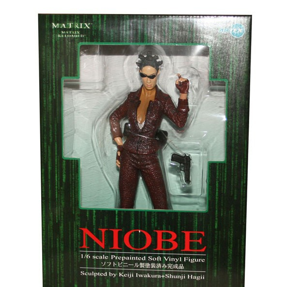 2014 latest hot selling anime pvc toy sexy toy Hand to do model Enter the Matrix Niobe(China (Mainland))