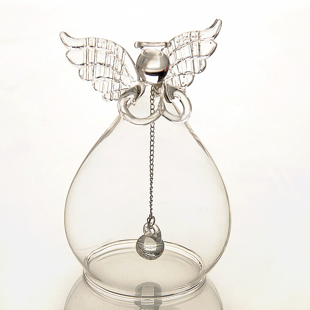Tabletop Handmade Crystal Glass Angel Home Accessories Wedding Birthday Gift Decoration Art Craft Work(China (Mainland))