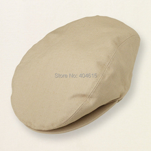 wholesale children summer popular cool ivy caps baby girl and boy newsboy cap high quality linen cotton beret hats(China (Mainland))