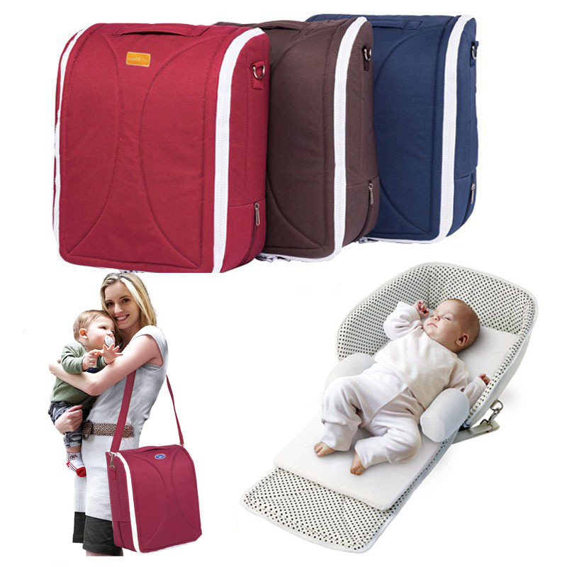 Free Shipping Portable Baby Crib Folding Bed For 0 6