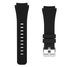Deporte 22mm banda para samsung galaxy watch 46mm S3 frontera/huawei watch gt Correa pulsera de silicona huami amazfit cinturón(China)
