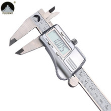 Digital Caliper 0-150mm/0.01 Stainless Steel Electronic Vernier Calipers Metric/Inch Micrometer Gauge Measuring Tools (China (Mainland))
