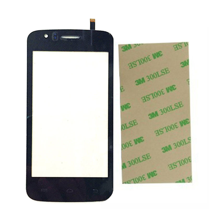 4.0 inch For Explay Atom Touch Screen Digitizer Front Glass Lens sensor Replacement Original Phone Touch Panel With 3M Adhesive(China (Mainland))