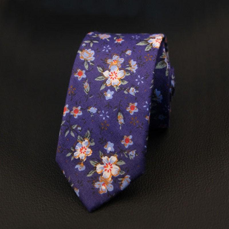 Mantieqingway-Cravate-Floral-de-Marque-Nouveau-Hommes-Cravate-Coton-Casual-Mode-Slim-Cravates-pour-les-Hommes