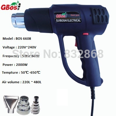 Free Shipping,2000W Upgrade Turtle Continuously Adjustable Hot Air Gun Professional Heater Tool Thermostat Heat Gun .(China (Mainland))
