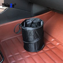 Buy Black Portable Fold Leakproof Universal Travel Car Trash Can Bin Mazda mazda2 CX-5 ATENZA MX-5 RX-8 Axela for $5.99 in AliExpress store