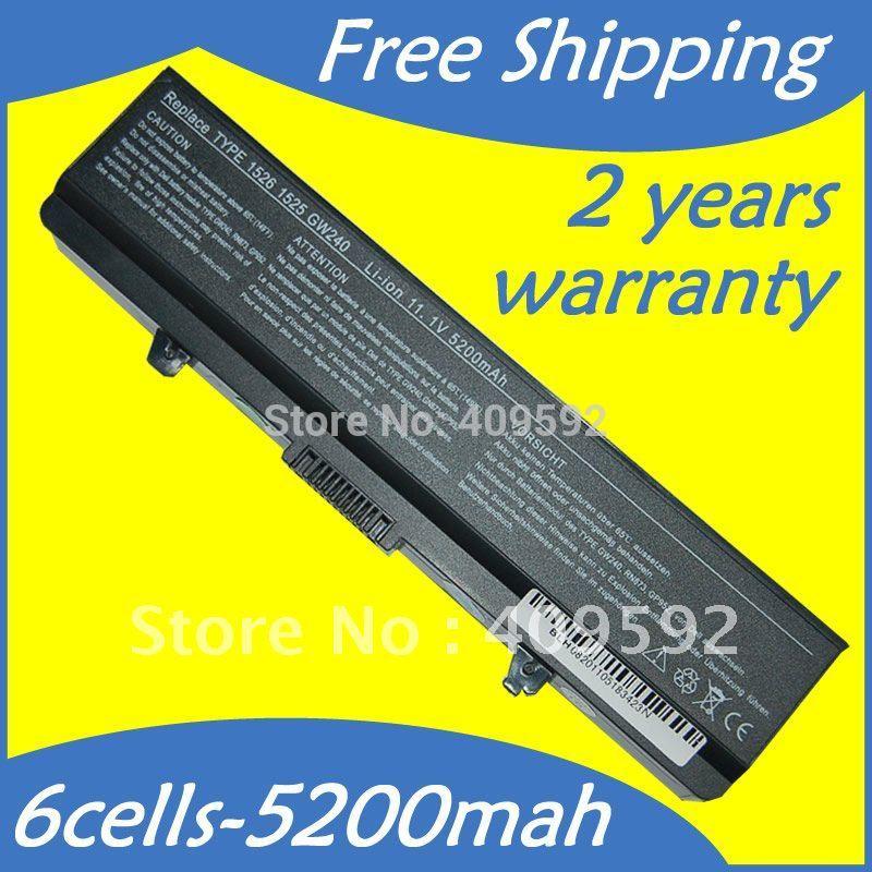 6cells Laptop Battery GW240 HP297 M911G Dell Inspiron 1525 1526 1545 1546 1440 1750 Vostro 500 - Shenzhen Ou Chu xing Electronics Co. Ltd. store