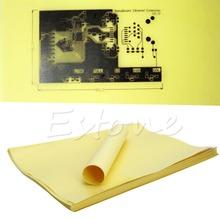 C18 100pcs DIY A4 Sheets Heat Toner Transfer Paper for PCB Electronic Prototype Mak Free Shipping(China (Mainland))