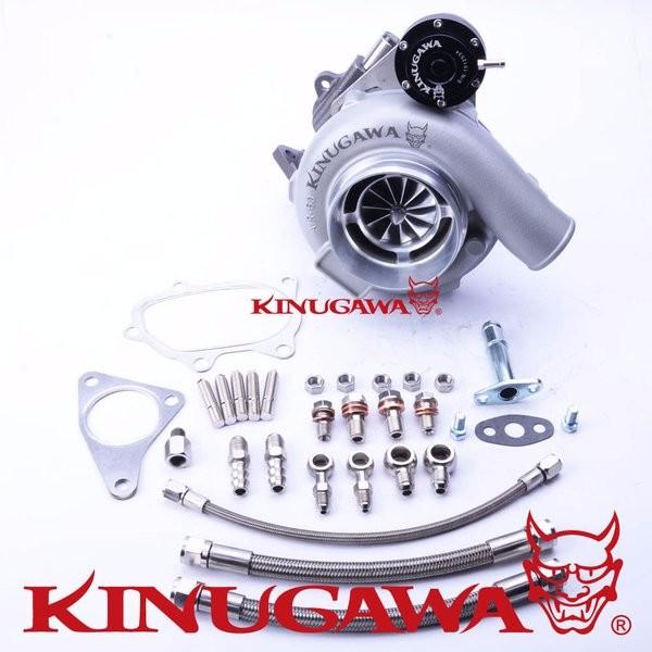 """Kinugawa Ball Bearing Turbo 4"""" GTX3076R fit SU**RU WRX STI 60/84 Trim A/R .64"""
