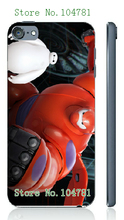 Mobile Phone Cases Retail 1pc big hero white hard cases for ipod touch 5 5th Free Shipping