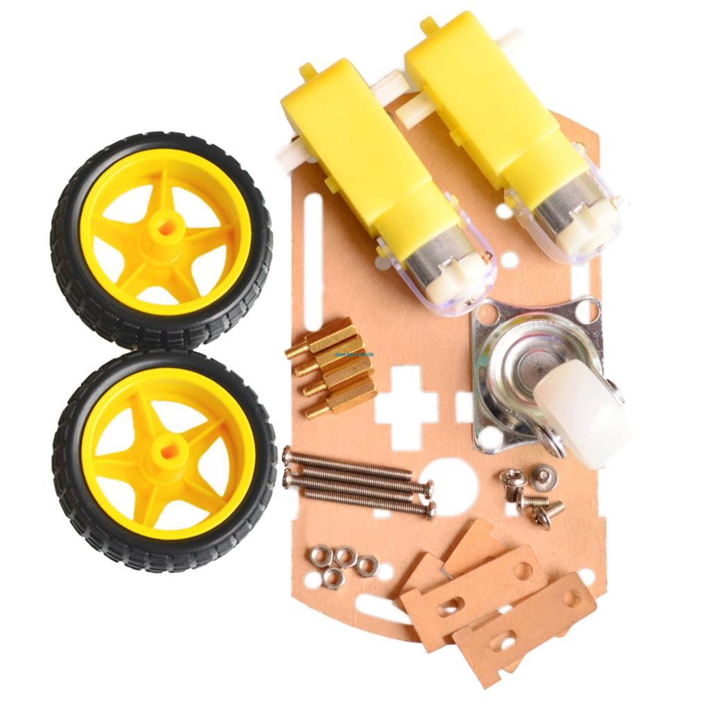 Free shipping Motor Smart Robot Car Chassis /Tracing car box Kit Speed Encoder for Arduino(China (Mainland))