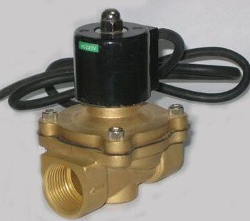 High Quality 1'' Ports IP68 Class Under Water Solenoid Valve Brass 2W250-25-G Waterproof Valves Standard Voltages(China (Mainland))