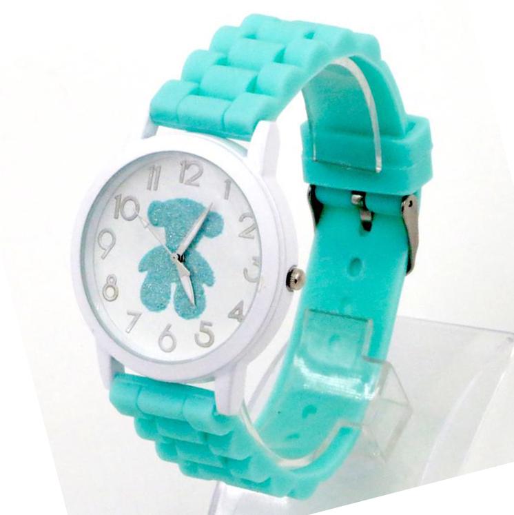 Relojes mujer 2015 Fashion Silicone Cartoon Animal Quartz Watch Women Watches brand Casual wristwatch relogio feminino - Shenzhen Elegant Store store