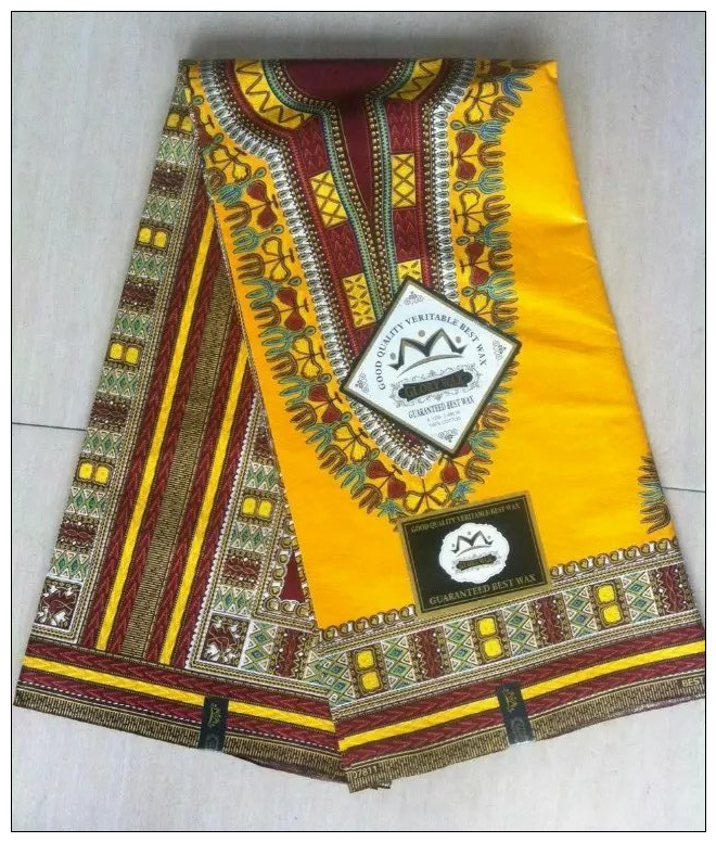 Hot sale yellow nigeria design textile cotton african for Fabric material for sale