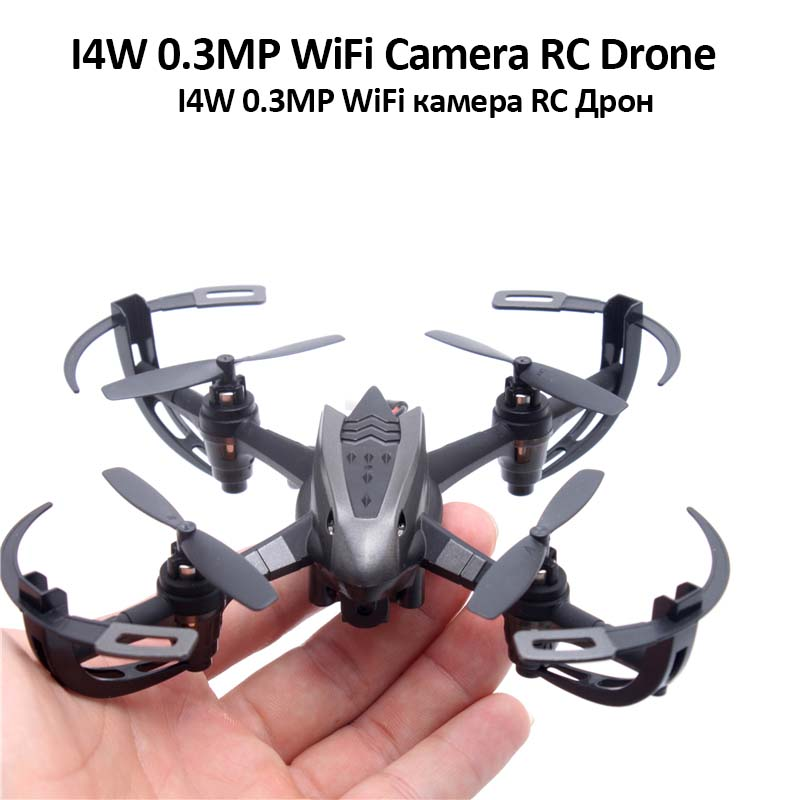 WIFI Camera Rc Drone Headless One Key Return 0.3MP WIFI Drone FPV Camera 2.4Ghz 3D Rollover Real time Picture Delivering Drone(China (Mainland))