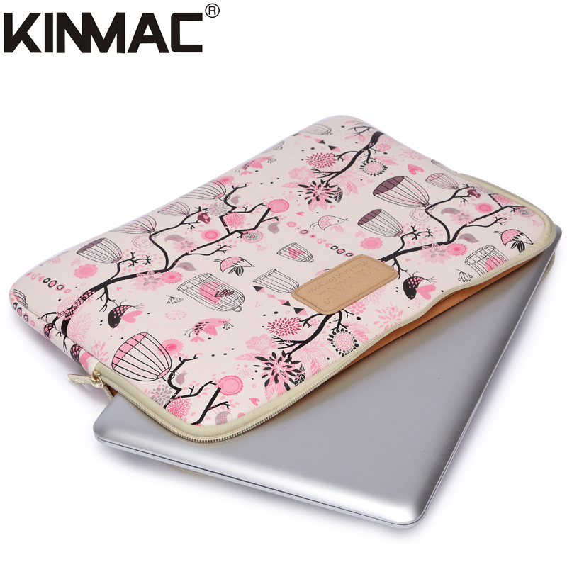Kinmac Leather Laptop Sleeve Bag 10 13 14 15.6 Inch,for Mini/ Air , for Macbook Pro / Carrying Case 11 15 Inch(Hong Kong)