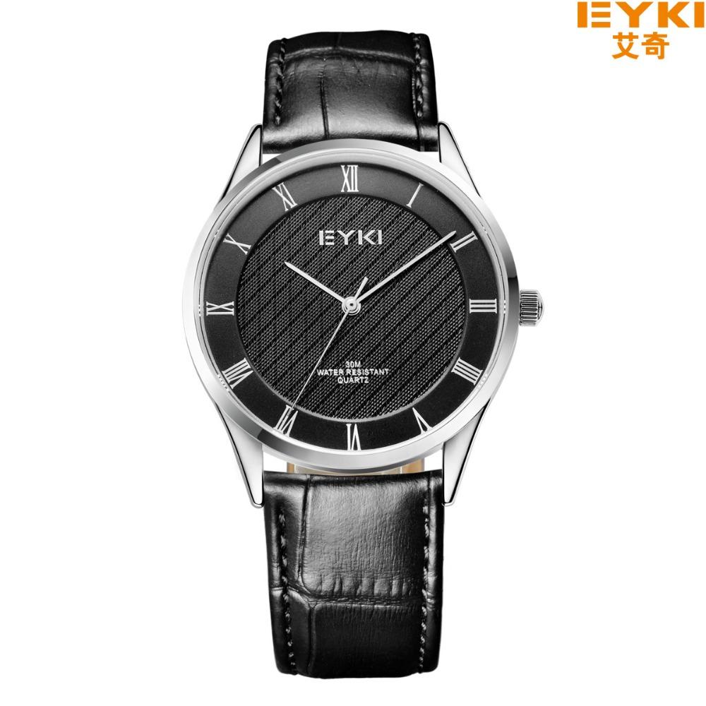 Luxury Brand EYKI EET1036L Watch Women Leather Strap Men Quartz Watch Fashion Casual Montre Homme Lady Watch Hour Clock Female<br><br>Aliexpress