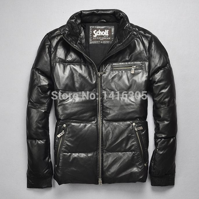 Canada Goose montebello parka outlet official - Aliexpress.com : Buy Schott men's genuine leather jacket casual ...
