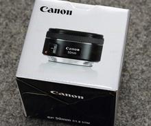 Genuine New Canon EF 50mm f/1.8 STM Lens(Hong Kong)