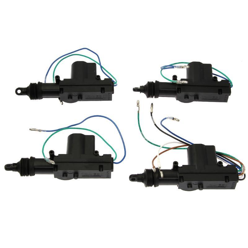 Автозапуск безопасности автомобиля 4 двери замок привод автомобиля Kit аварийная система безопасности автоэлектрика