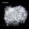 10M 20M 30M 50M 100M LED string Fairy light holiday decoration AC220V 110V Waterproof outdoor light