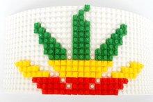 Novo design Bigbang G-Dragão SAIR Mosaicos Inlay Tijolo blocos de Construção de brinquedos DIY Destacável boné de beisebol GD Snapback chapéu hiphop(China)