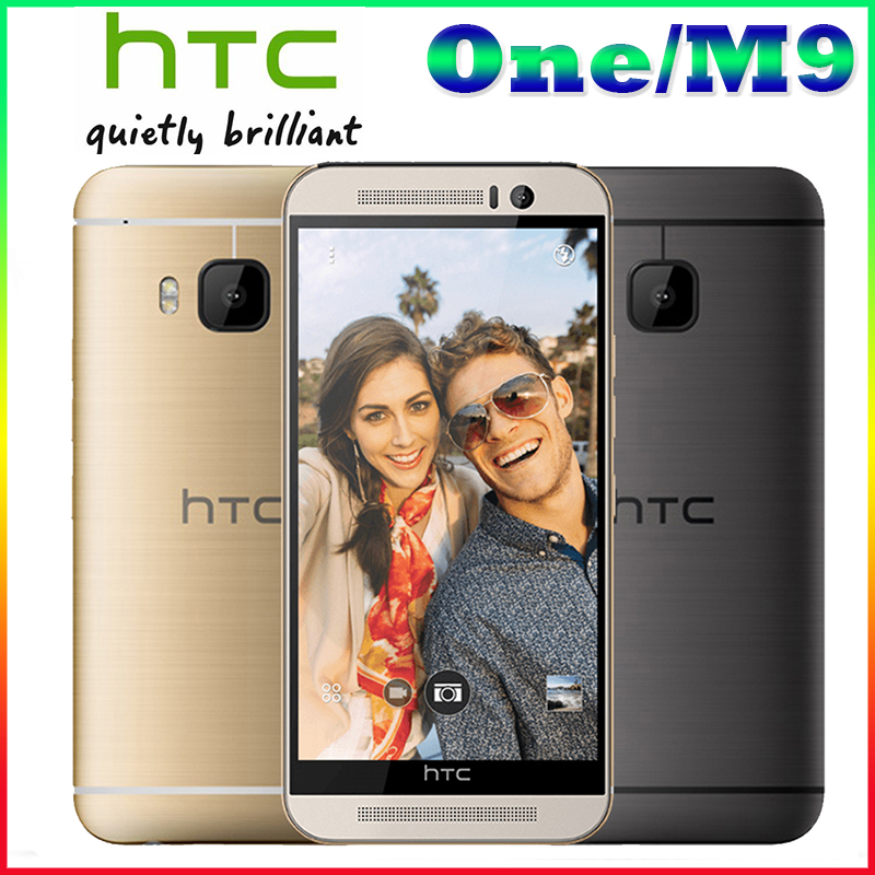 """M9 Unlocked HTC ONE M9 Mobile phone Quad-core 5.0"""" TouchScreen Android GPS WIFI 3GB RAM 32GB ROM Cell phones Free shipping(China (Mainland))"""