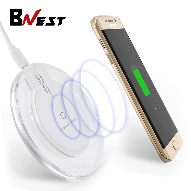 Bnest Qi Charger Pad 5V 2A Fantasy qi Wireless Charger Charging for Samsung Galaxy S6 S6 Edge Plus S7 S7 Edge Note 5 Phone(China (Mainland))
