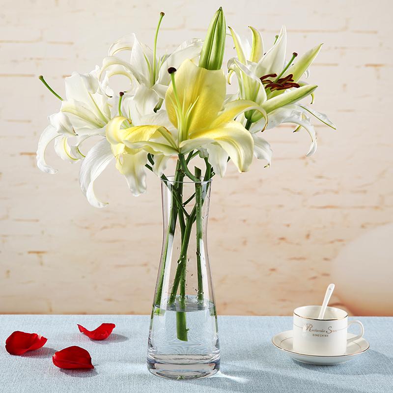 simple europeo grande cilindro de vidrio florero hogar saln decoracin de escritorio cultura