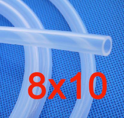 8x10 mm Food Grade Medical Use Grade FDA Silicone Rubber Flexible Tube/Hose/Pipe