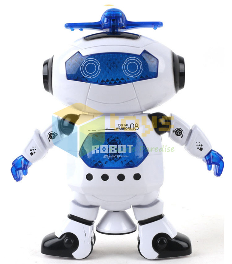 Hot new costume robot dance music dancer cool robots for sale kids robot with light music toys 4*AA battery child 3 years old(China (Mainland))