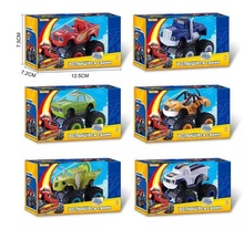 6pcs/Set Blaze Monster Machines Kid Toys Vehicle Car Classical Toys Action & Toy Figures Transformation  With Original Box gift