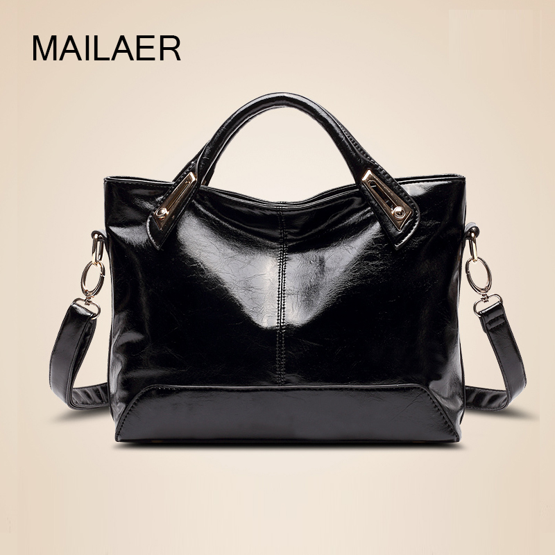 Handbags large capacity minimalist fashion wild autumn and winter 2016 new wave of large shoulder bag hand diagonal package(China (Mainland))