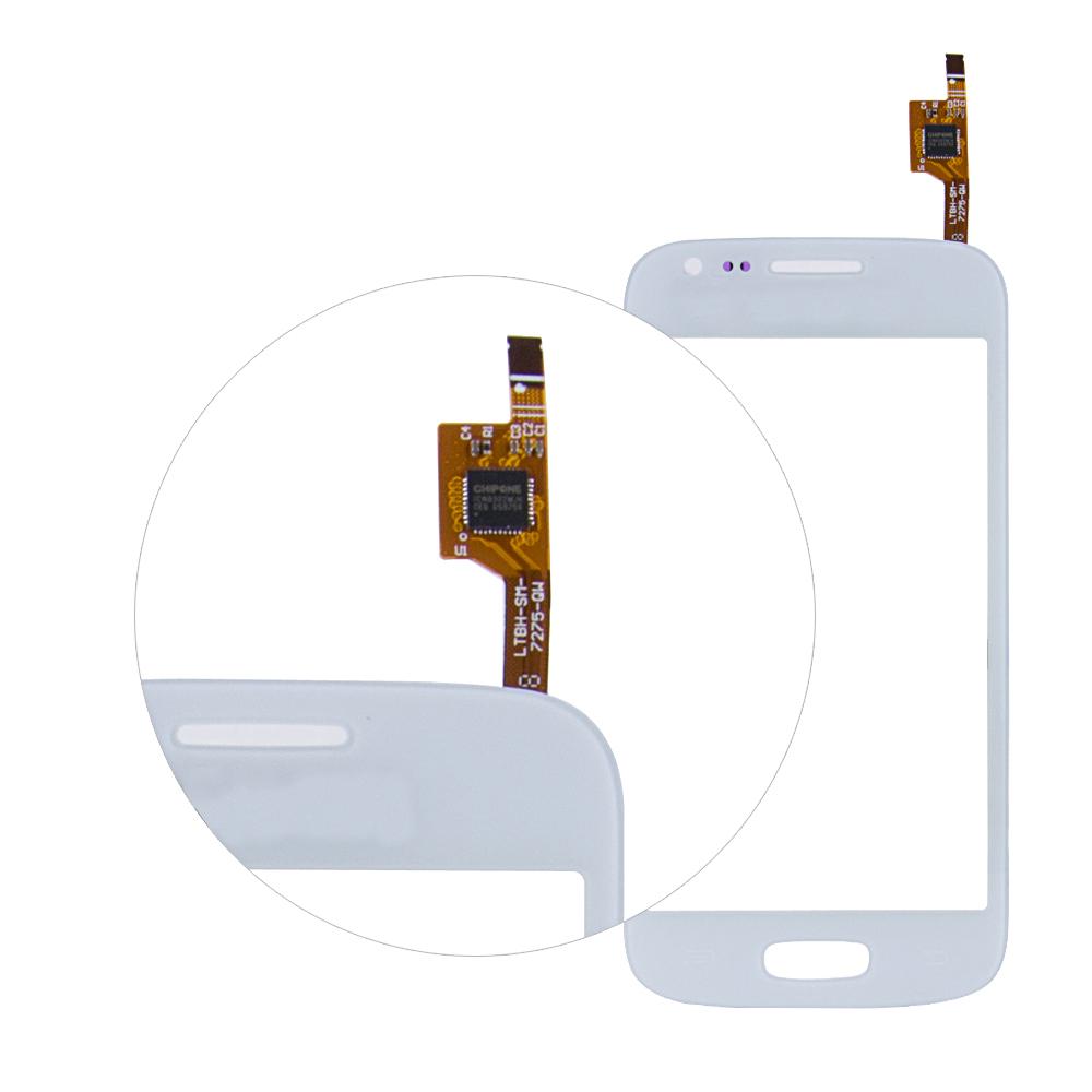 белый сенсорный экран панели планшета стекло
