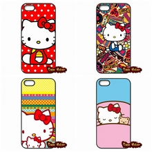 Korea Cartoon Hello kitty Fundas Case iPhone SE 4 4S 5S 5 5C 6 6S Plus Samsung Galaxy S2 S3 S4 S5 MINI S6 S7 Edge Note 3 - Ten End Cases store