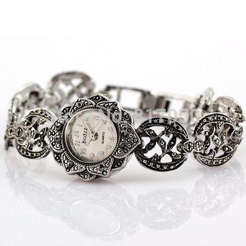 2014 new fashion army full steel stainless rhinestone luxury black classic women female bracelet wrist dress quartz watch<br><br>Aliexpress