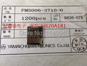 Original Japanese YAM brand mobile phone SIM card connector 6P FMS006-3710-0(China (Mainland))