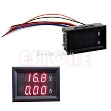 A96  DC 100V 10A Voltmeter Ammeter Red LED Panel Amp Dual Digital Volt Meter Gauge