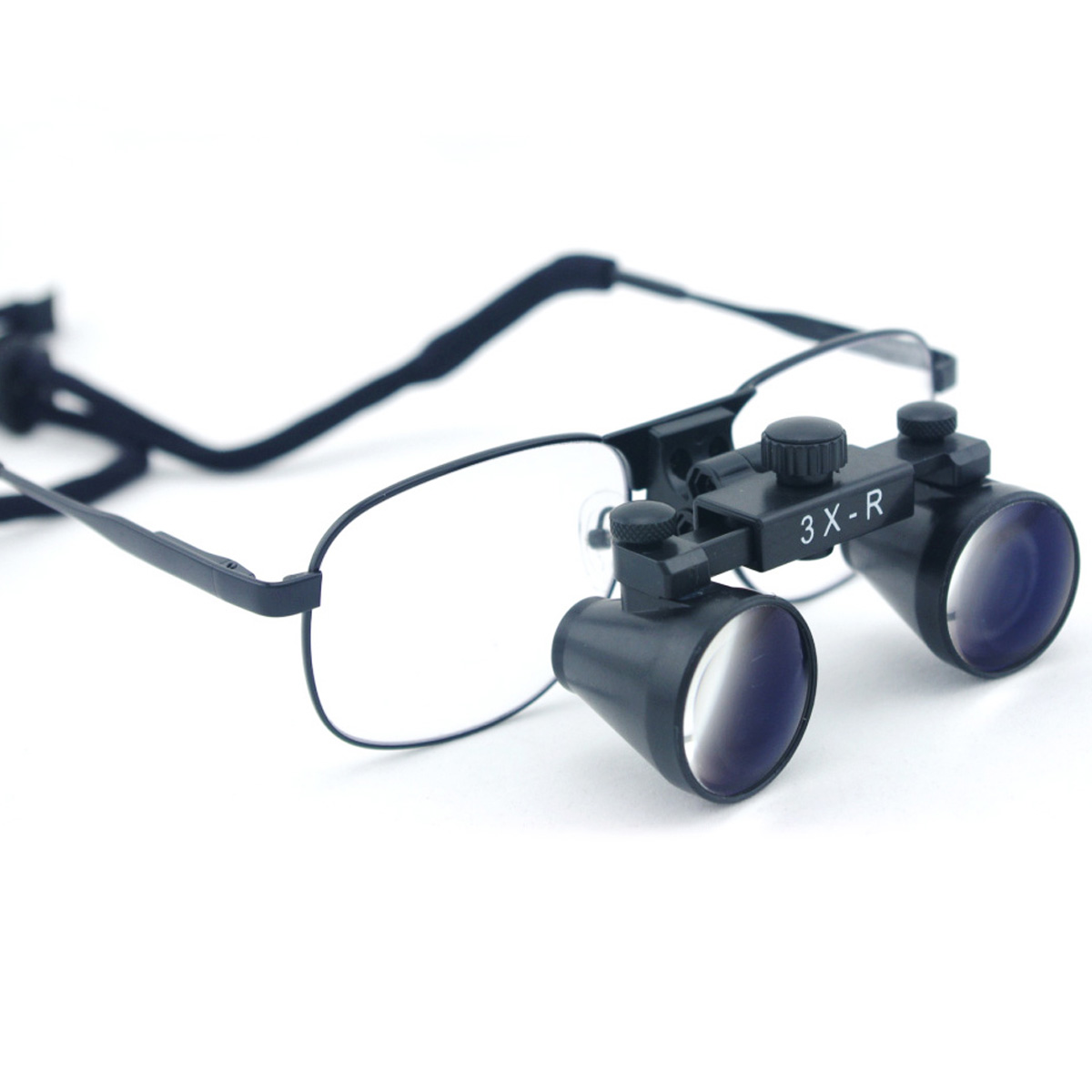 Free Shipping Hight Quality Ultra-Light Black Metal Frame 3X 360-460mm Dental Loupes Medical Surgical Loupes for Dentist Surgery<br><br>Aliexpress