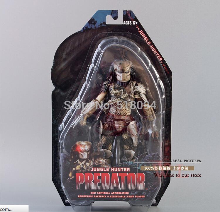 820cm NECA Predator Series 8 Classic Predator 25th Anniversary Jungle Hunter  PVC Action Figure toy<br><br>Aliexpress