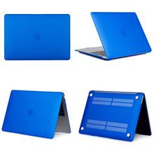 Mờ Cứng Laptop cho Macbook Air Retina 11 12 13 15 inch với Thanh Cảm Ứng 2018 Bìa mới a1706 A1707 A1989 A1990 A1932(China)