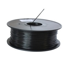 Synkia brand Black 3D Printer Filaments PLA 1kg plastic Rubber Consumables for 3d Pen MakerBot/RepRap/UP/Mendel Free Shipping