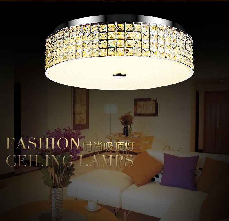 Фотография Modern Luxury Led Crystal Ceiling Light for Living Room Lustre Home Decoration Indoor Lighting Guaranteed 100%