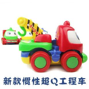Cartoon engineering car truck crane dump toy car