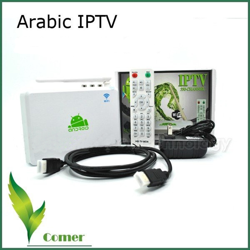 Free shipping Free Arabic IPTV Box,  Arabic Channel TV Box with 400 channel  includes bein aport and mbc <br>