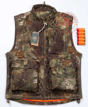 Kryptek highlander camouflage hunting vest+free shipping(China (Mainland))