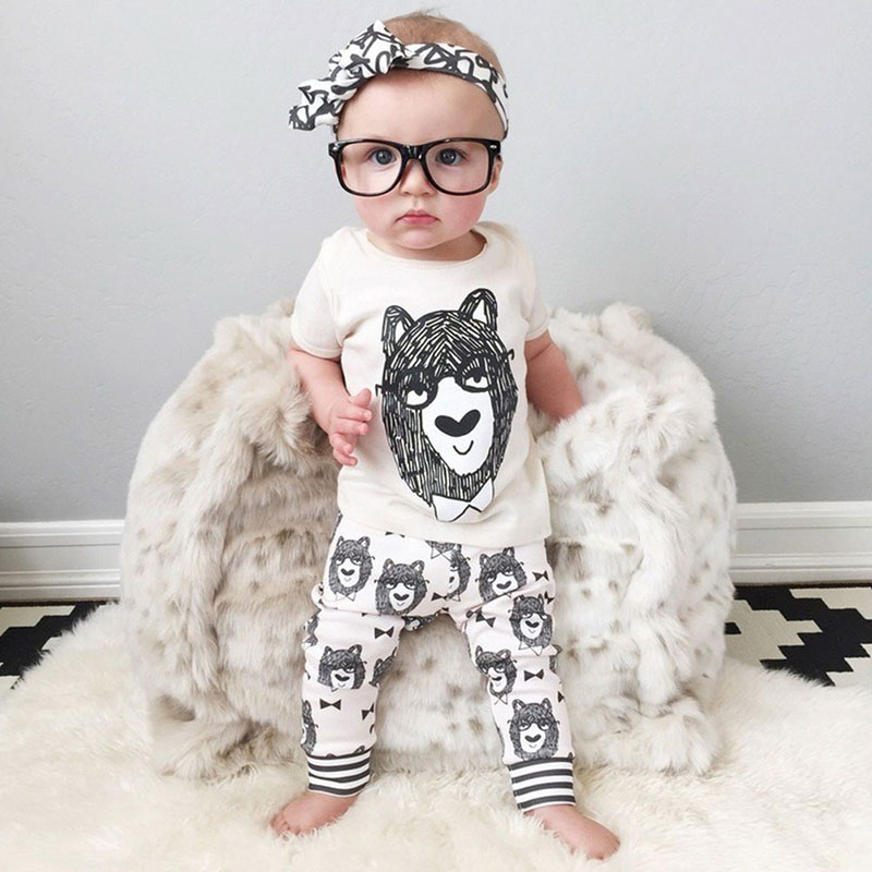 Baby Toddler Infant Newborn Boy Short Sleeve Top Blouse T-Shirt Pants Trousers Outfits Set 70/80/90/100<br><br>Aliexpress